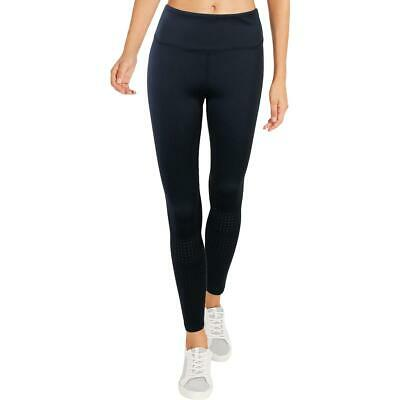 Kendall + Kylie Womens Navy Skinny Ankle Casual Leggings L BHFO 2546