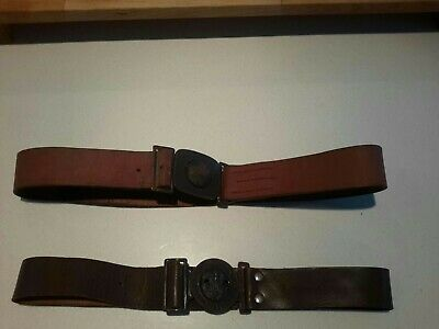 Scouts belts leather