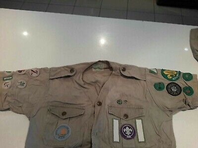 Scout shirt and badges