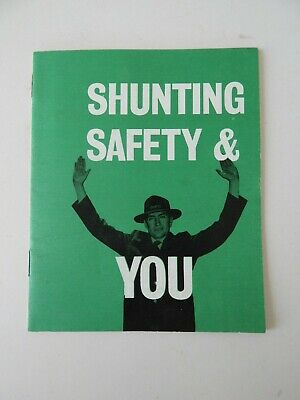 Victorian Railways VR Shunting Safety & You Pamphlet. 70's ERA. Good Condition.