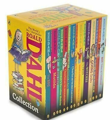 Roald Dahl 15 Book Box Set Collection Kids Age 6+ Years New boxed set collection