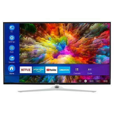 MEDION X15031 Fernseher 125,7cm/50'' Zoll 4K UHD Smart TV HDR10 Dolby Vision A+