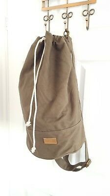 Canvas Light Brown Gym Sports Travel Bag Forbes & Lewis 25% OFF PRICE