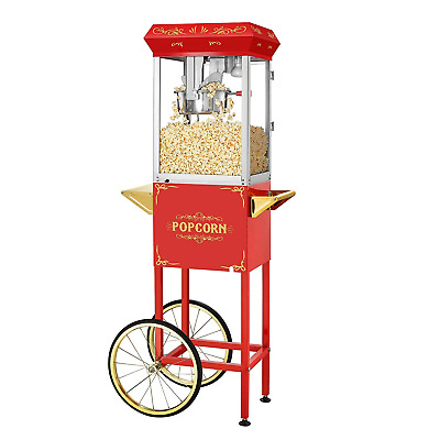 Popcorn Machine & Cart + Extras Package