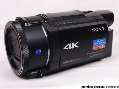 Sony FDR-AX53 Camcorder 4K Ultra HD Videorecorder AX53 Handycam in OVP