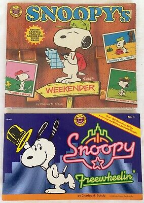 "COLLECTABLE - ""SNOOPY"" MAGAZINES x 2. C. 1980's"