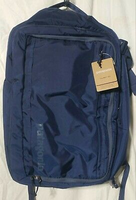 Patagonia Tres MLC Backpack Travel Luggage Navy Blue 45L