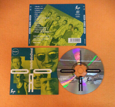 CD ORO ONDE RADIO OVEST Vivo Per 1995 Ita SUGAR SGR4419-2 no lp mc dvd (CI61)