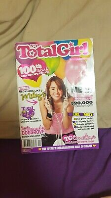 Total Girl Magazine. Miley Cyrus. Nov 2010. 100th Issue Collectors Edition