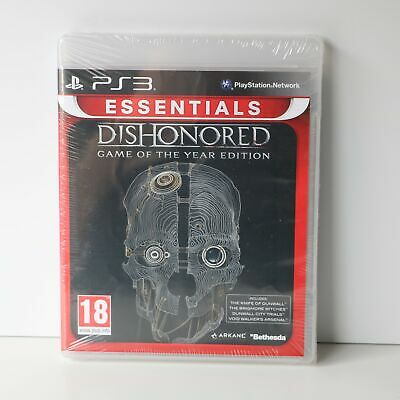 Dishonored - Sony Ps3 - Game Of The Year Edition - Sony Playstation 3 Game - New