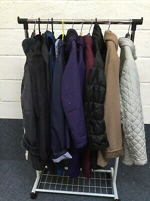 Job Lot Ladies Coats Mixed Styles & Sizes - 11 In Total LOT3