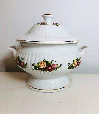 Royal Albert China - Old Country Roses - Soup Tureen And Lid  FREE US SHIPPING