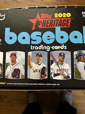 2020 Topps Heritage singles pick 33 or more from 370 cards Stars, RC's, L Leader