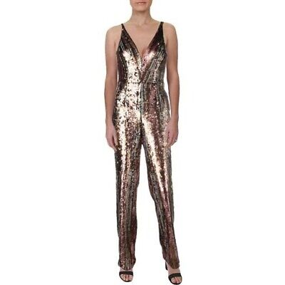 $286 New Dress the Population Sequin Jumpsuit Party Women's Size Medium  NWT