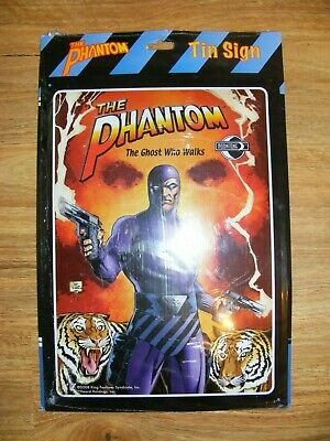 Very Rare Phantom Comics Tin Sign Moonstone Design Brand New In Original Packagi