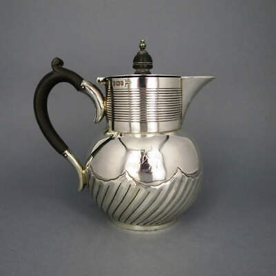 Kaffeekanne Silber Walker & Hall 1889