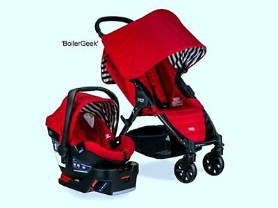 Britax Pathway & B-Safe 35 Travel System Stroller & Car Seat Combo -$169    #280