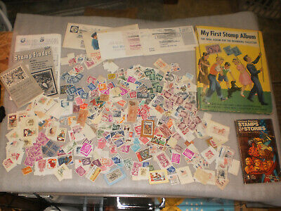Lot of 100's  Worldwide Used Postage stamps, Estate sale, collection,books