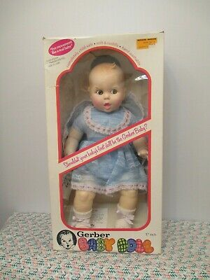 NIB Adorable Vinyl & Cloth Gerber Baby Doll by Gerber Products Company, 1979