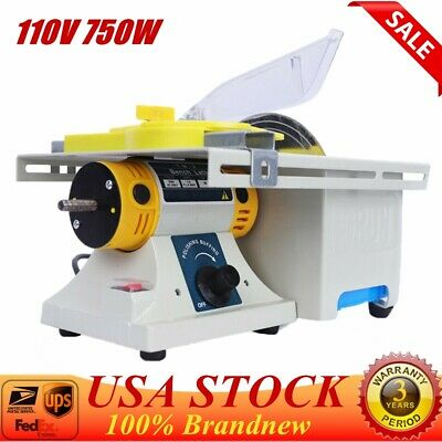 Portable Precision Table Saw Blade Woodworking Cutting Polishing Carving Machine