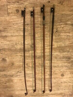 Vintage Old French Violin Bows/ Great Condition / Pearl