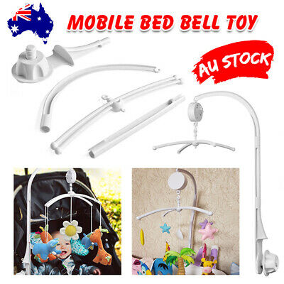 Baby Mobile Crib Cot Bed Bell Musical DIY Wind up Music Box Hanger Rattles Toys