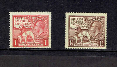 GB 1924 KGV, SG430-431 Set of 2 British Empire Exhibition. UnMounted Mint.