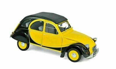Citroën 2CV Charleston Helios Yellow & Black 1/18 NOREV 181493