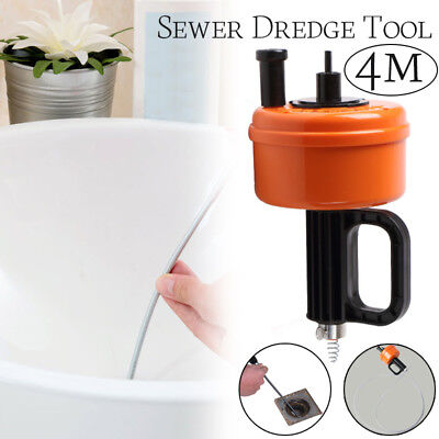 Sink Cleaning Kitchen Toilet Bathroom Floor Drain Sewer Dredge Cleaner Tool !