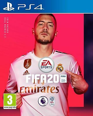 FIFA 20 (PS4) In Stock New & Sealed UK PAL Free UK P&P OFFICIAL Stock NEW