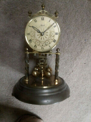 Franz Hermle mechanical anniversary clock for spares/repairs