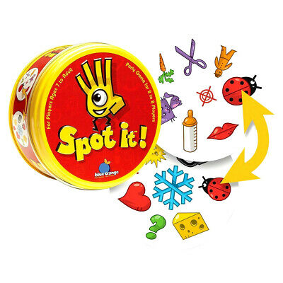 Dobble Family Fun 5 Games In 1 Card Game Kids Indoor Game Brand New Spot the dif