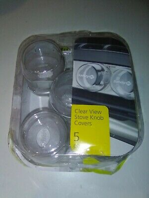Safety 1st Child Proof Clear View Stove Knob Covers (Set of 10)