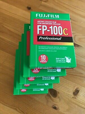 5 FujiFilm FP-100C ISO 3.5x4.2 in Professional Instant Colour Film 2017-11