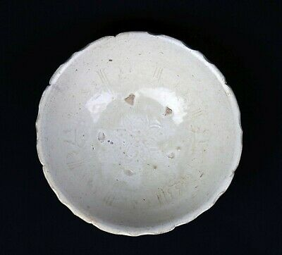 *Sc*A Superb 13Th Cent. Ly Dynasty Vietnamese Celadon Pottery Bowl!