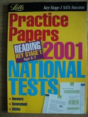 LETTS  KS1 READING PRACTICE PAPERS AGE 6-7 Home education Home Schooling