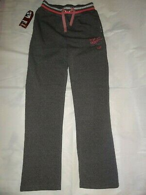 Lee Cooper Grey Glitzy Warm Sweat Pant Junior Girls 13 years