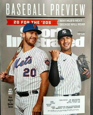 """Sports Illustrated Magazine Spring 2020 """"MLB BASEBALL PREVIEW ALONSO TORRES""""-New"""