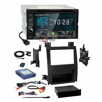 Kenwood DVD Sirius Carplay Stereo Dash Kit Bose Harness for Cadillac Escalade