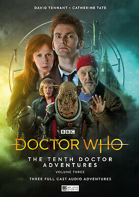 Big Finish - Doctor Who - Tenth Doctor Adventures Vol 3 - Ltd Ed  - New/Sealed
