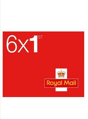 6 x 1st Class Royal Mail Postage Stamps Booklet - Limited Stock! 💌