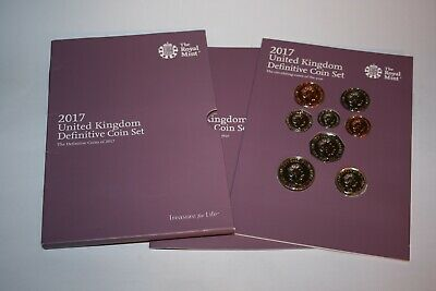 2017 United Kingdom coins Proof Set Royal Mint