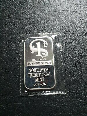 House Clearance Item, The North West Territorial Mint Bar, Silver, collectables