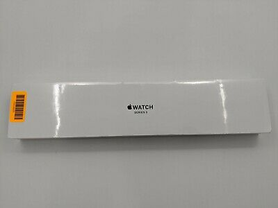 New Apple Watch Series 3 42mm Space Gray Aluminum Black Sport Band A1859 -DS2974
