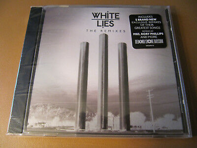 White Lies The Remixes Record Store Day (CD) RARE Hard to Find RSD