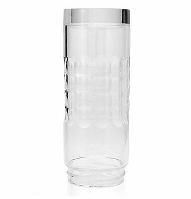 Cook's Companion Choice of 14 oz Glass Hydro Water Bottle in Optic Cut