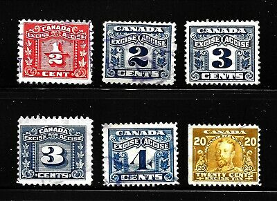 Hick Girl-Used Canada Revenue  Excise  Tax Stamp    X1731
