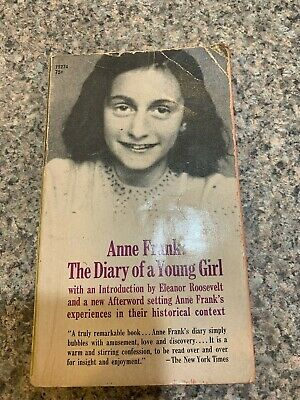 Anne Frank: the Diary of a Young Girl - Paperback - 1968
