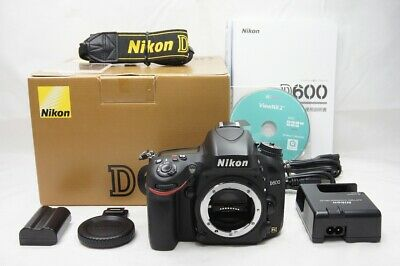 """MINT"" Nikon D600 24.3MP Digital SLR Camera Black Body Only with Box #200328c"