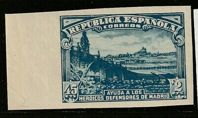 1938. ** Edifil: 757s. DEFENSA DE MADRID-SIN DENTAR
